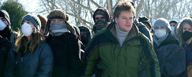 Matt Damon in Contagion. (Photo: Warner Bros.)