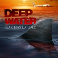 It's double trouble as an airplane crashes in shark infested waters in upcoming Deep Water.