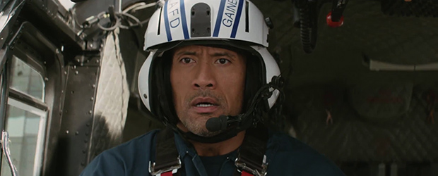 Warner Bros. releases teaser trailer for upcoming earthquake disaster movie San Andreas, starring Dwayne Johnson.